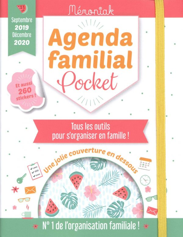 Agenda familial pocket 2019-2020