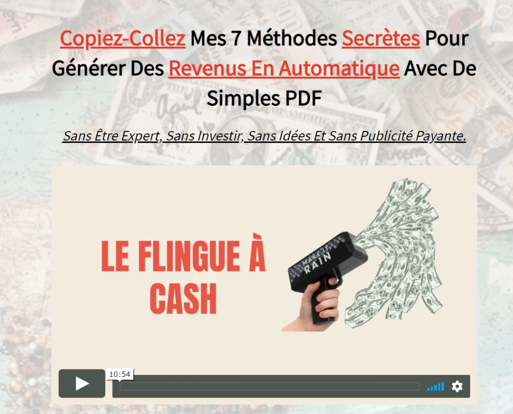Flingue à Cash