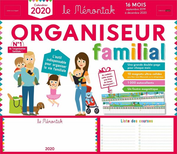 Organiseur familial 2019-2020