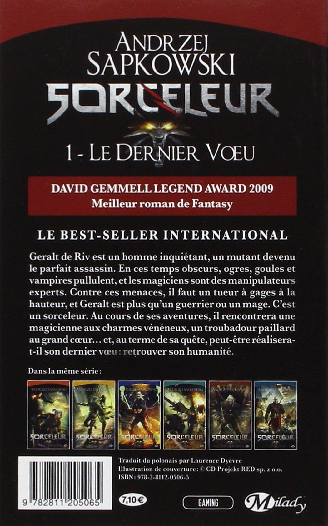 Sorceleur, Tome 1