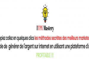 1tpe Mastery