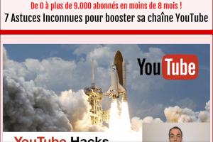 7 Hacks YouTube - De 0 à 9.400 abonnés en 8 mois