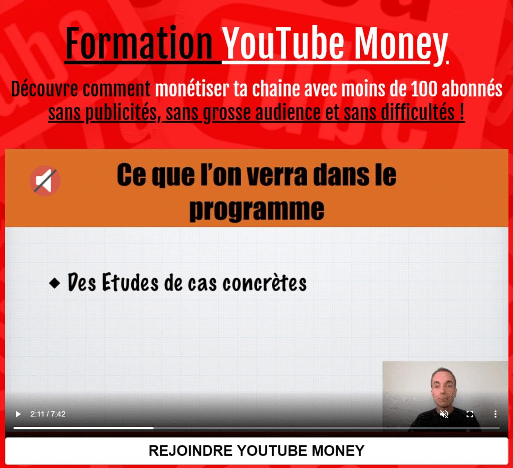 Gagner de l'argent sur YouTube sans abonnés !