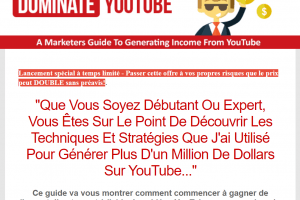 Million De Dollars Sur YouTube...