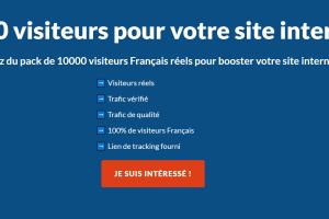 10000 visites pour votre site internet (France)