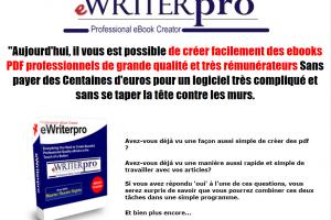 EwriterPro + Droit de Revente