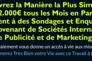 Obligez 500 Sociétés à Vous Verser 2000 euro /Mois