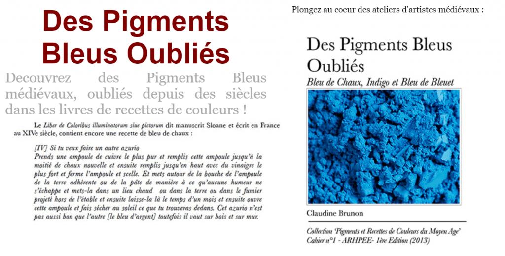 Pigments Bleus Oubliés