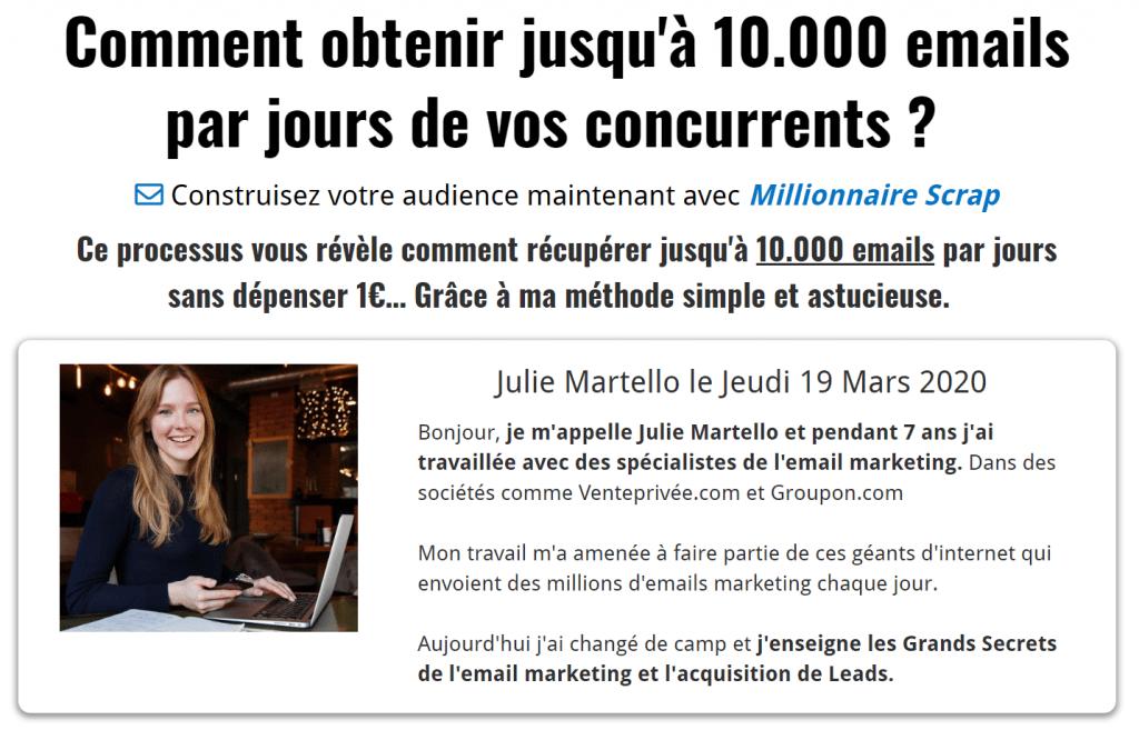 10.000 Emails par jours de vos concurrents