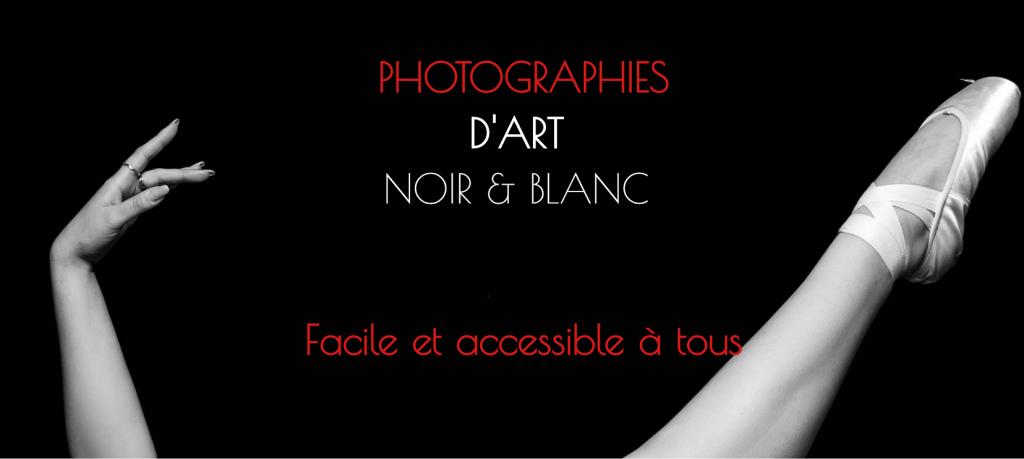 Photographie d'Art Noir & Blanc