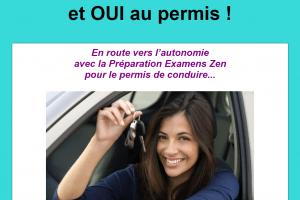 Préparation Zen pour le permis de conduire