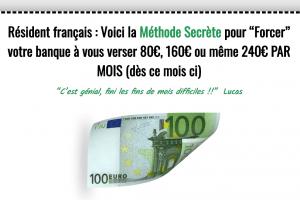 CASH 240 : Gagnez 240 EUROS de plus chaque mois