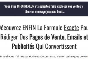 Copywriting : La Formule Pour Vendre Sur Internet