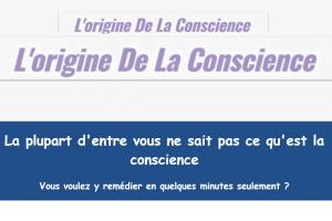 L'origine de la conscience