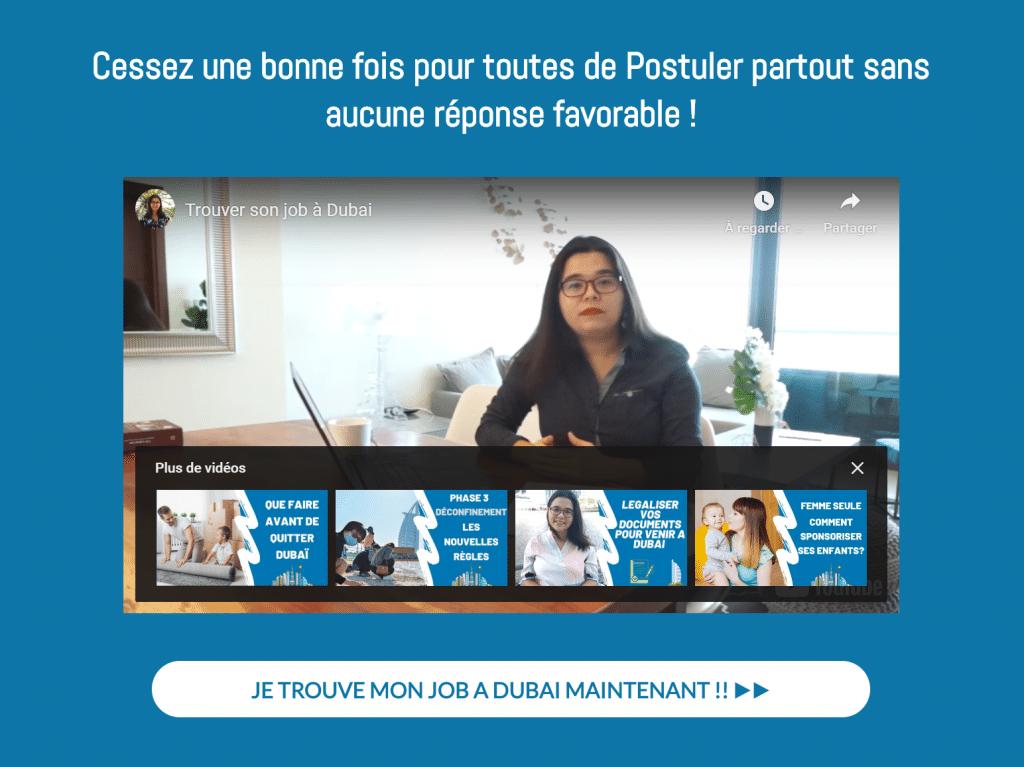 Trouver votre Job à Dubaï
