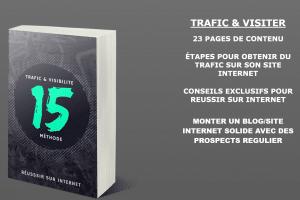 Ebook TRAFIC & VISIBILITÉ Réussir sur Internet