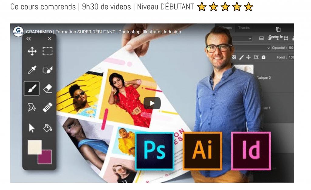 SUPER DÉBUTANT MasterClass -Photoshop, Illustrator