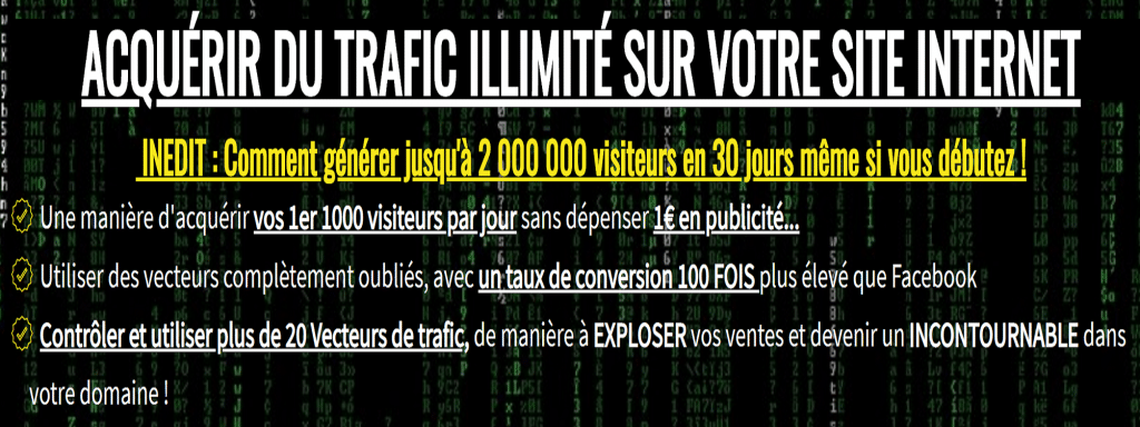 2 000 000 visiteurs en 30 jours