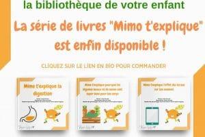 """Les livres pour enfants de la série """"Mimo t'explique"""""""