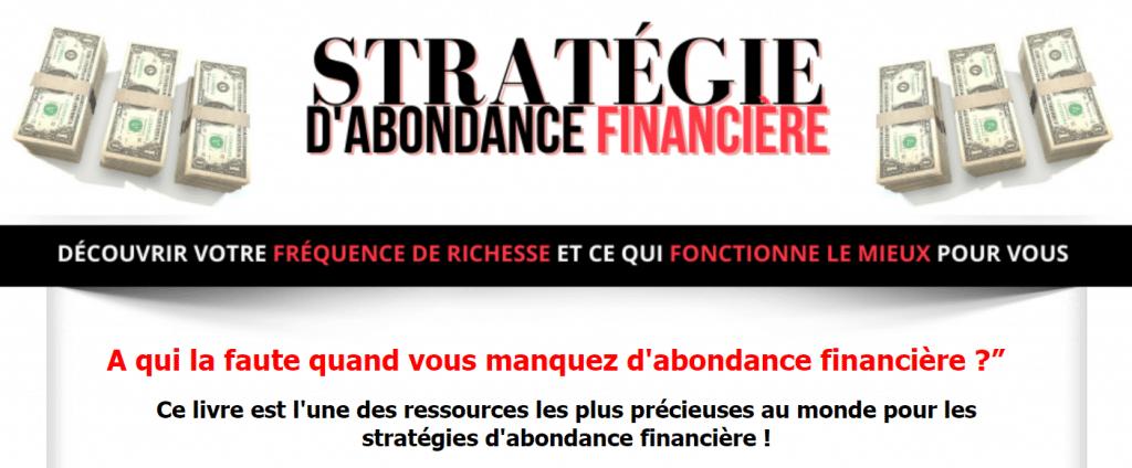 Stratégie d'abondance financière