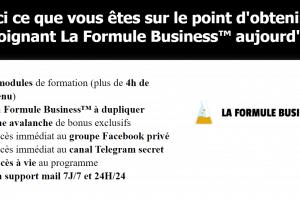 La Formule Business