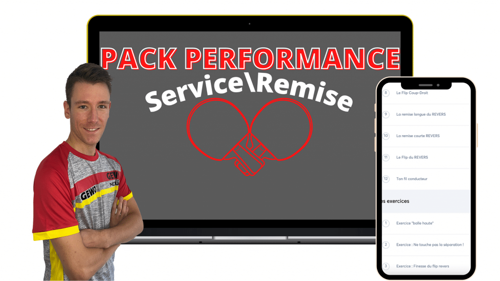 Le Pack Performance Service Remise ( Tennis De Table )
